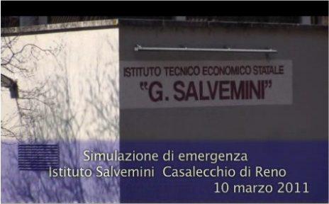 Simulazione di emergenza  - Istituto Salvemini