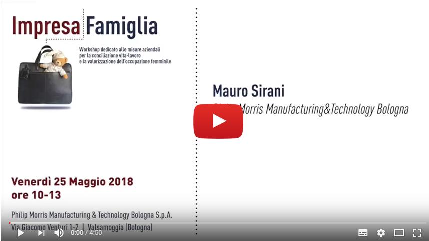 Mauro Sirani, Philip Morris Manufacturing & Technology Bologna