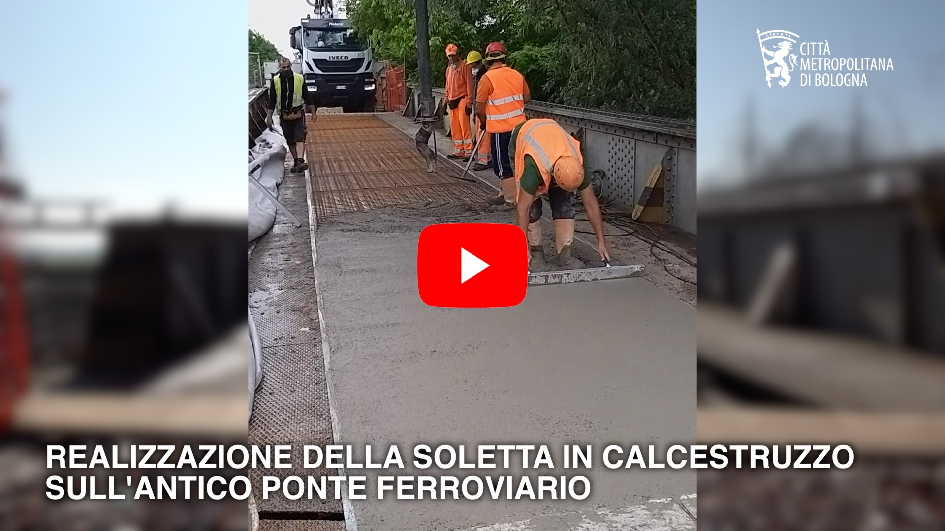 Ciclovia del Sole, il ponte sul Panaro Camposanto. Maggio 2020