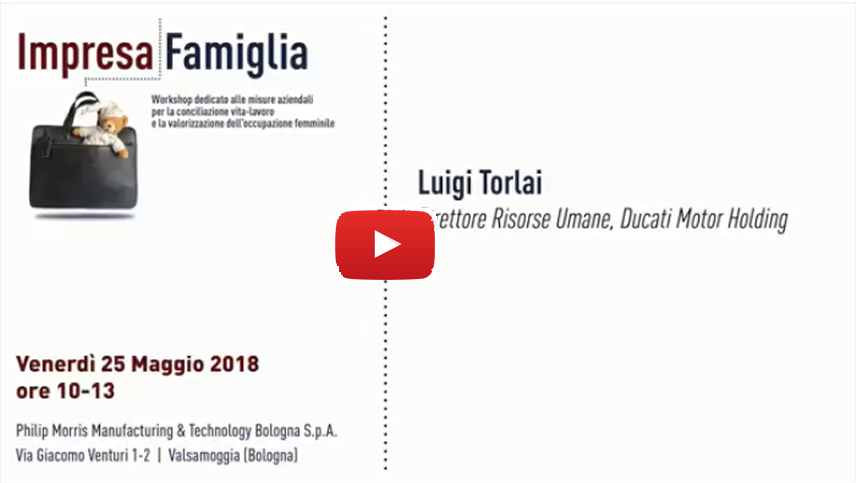 Luigi Torlai, Ducati Motor Holding