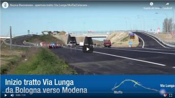 Nuova Bazzanese, nuovo tratto tra via Lunga (Nuova Bazzanese esistente) e la SP 27 (Muffa/Calcara)