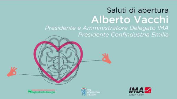 Alberto Vacchi, Gruppo IMA, Presidente Confindustria Emilia