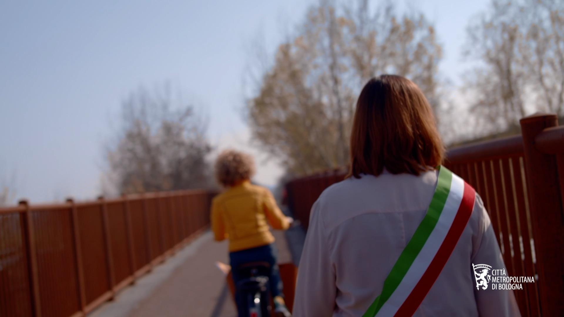 Ciclovia del Sole - Video promo con i sindaci lungo la Ciclovia