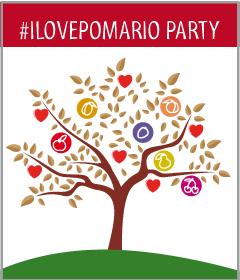 Logo #ILOVEPOMARIO PARTY