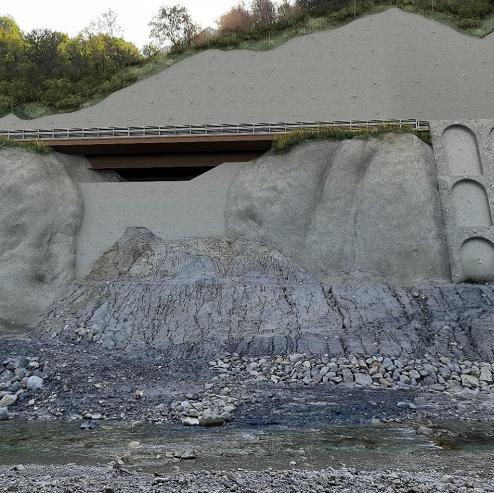 Frana della Gardeletta, approvato il progetto di ricostruzione
