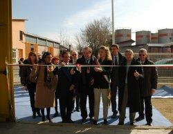 L'inaugurazione dello stabilimento - Archivio Provincia di Bologna