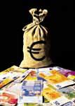 Banconote di euro - Archivio Provincia di Bologna