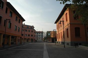 Piazza di Anzola dell'Emilia - Archivio Città metropolitana