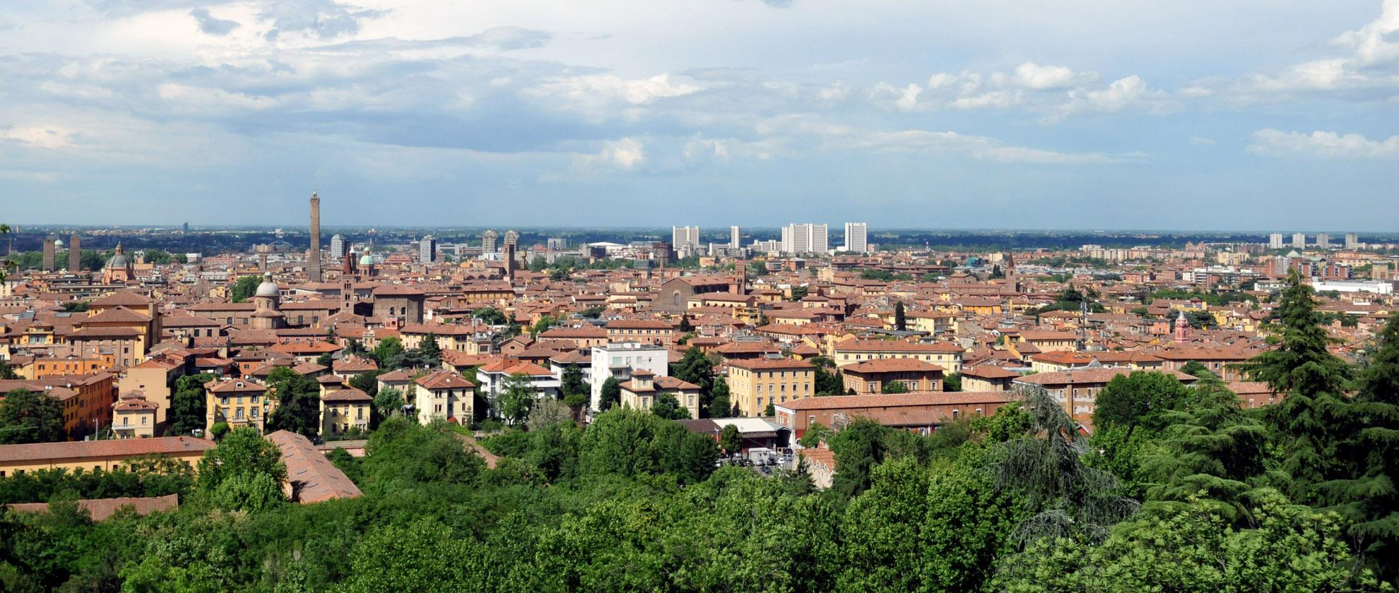 Panoramica di Bologna