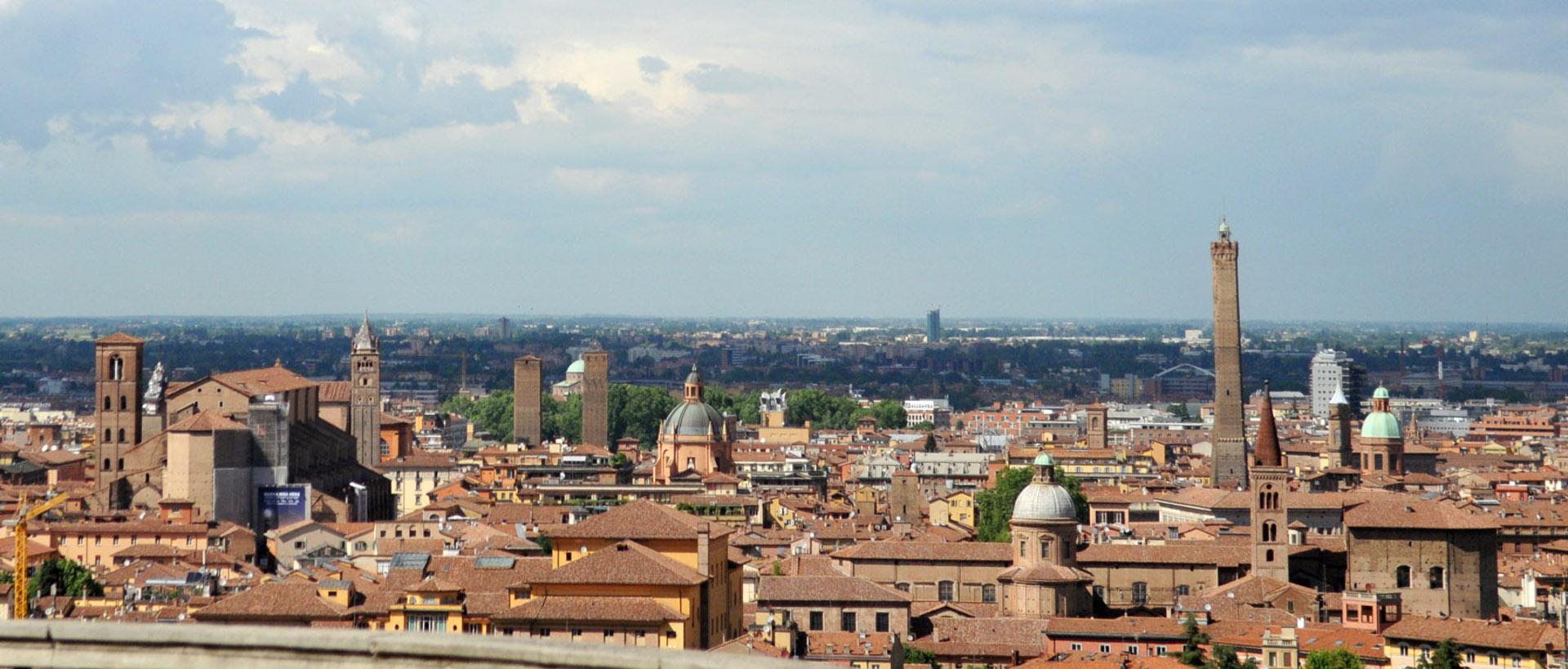 Panoramica su Bologna