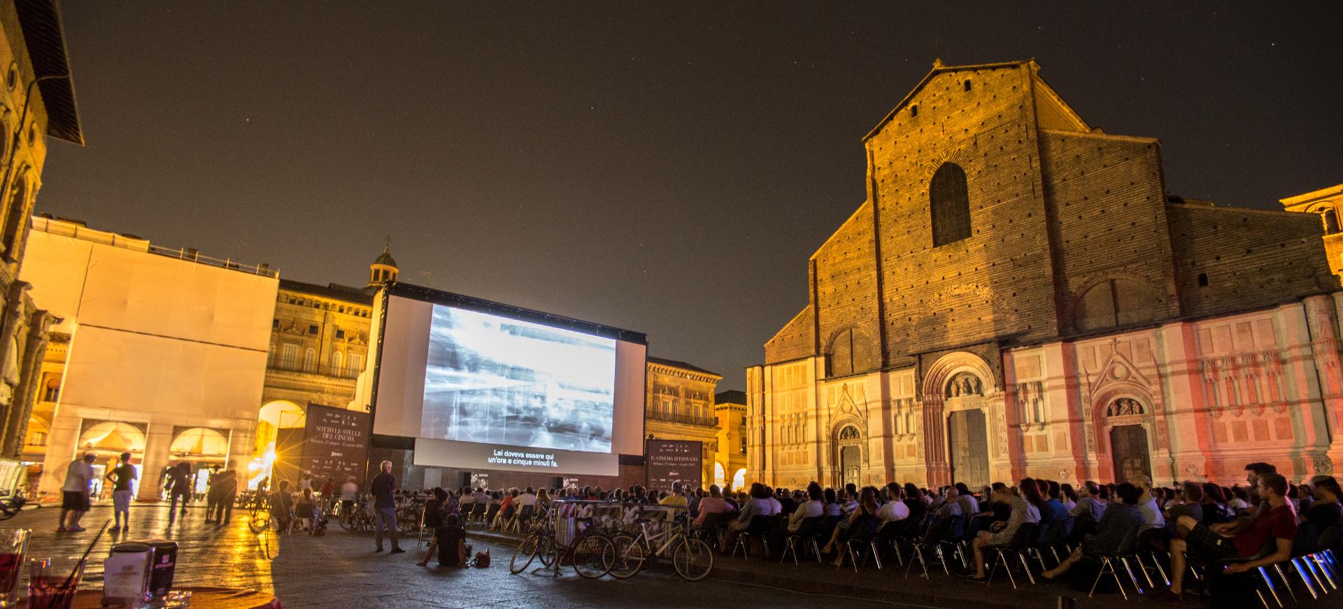 Cinema Ritrovato in piazza Maggiore a Bologna - Foto: BolognaWelcome