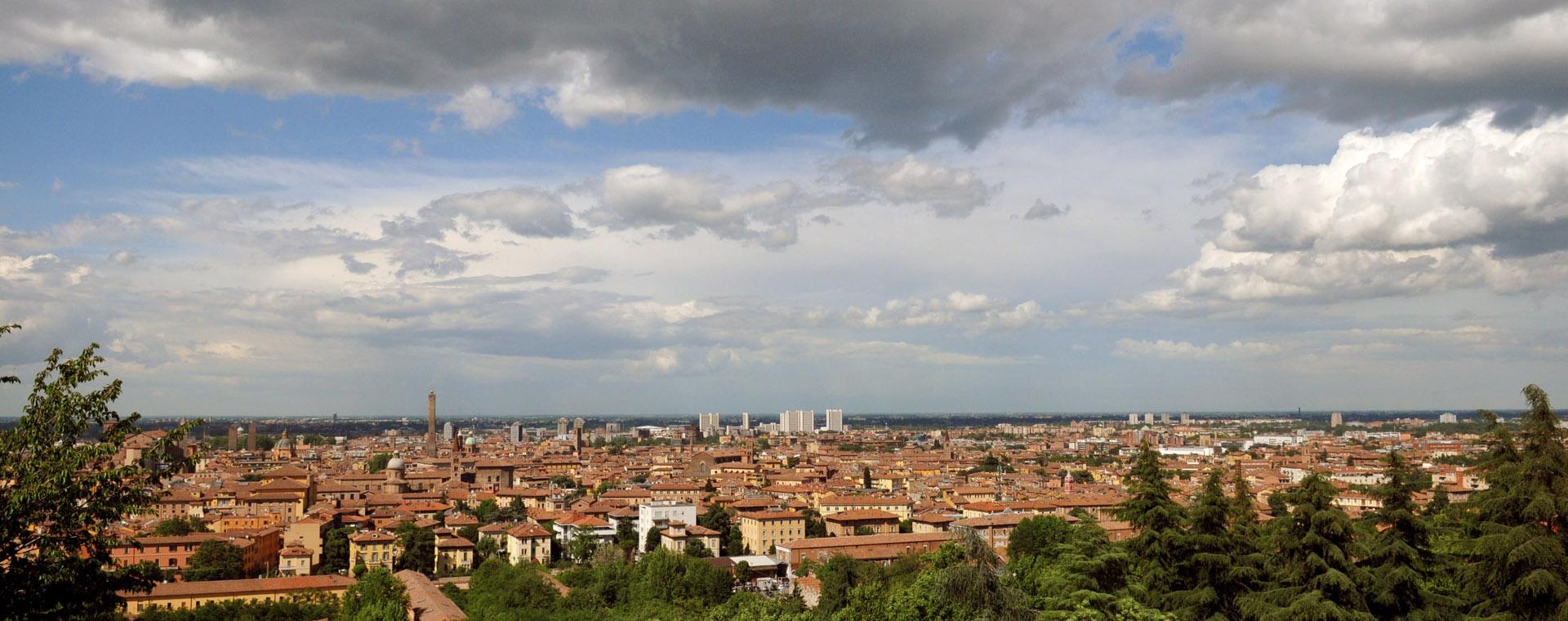 Foto: panorama su Bologna