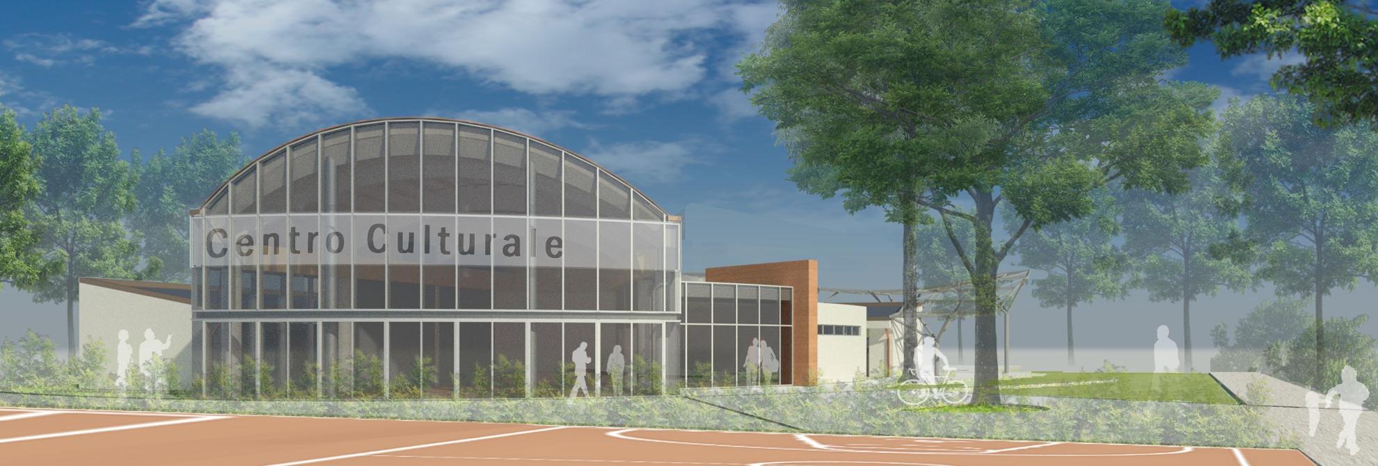 Progetto del centro culturale di Calderara di Reno
