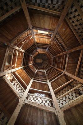 Minerbio, Rocca Isolani Colombaia, scala del Vignola - Foto Paolo Barone
