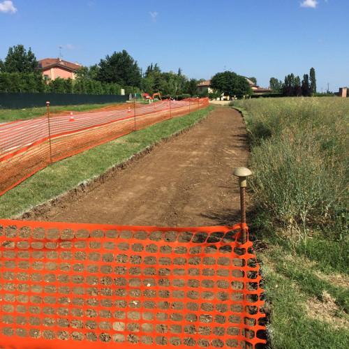 Piano periferie, partiti i lavori della ciclabile della via Emilia