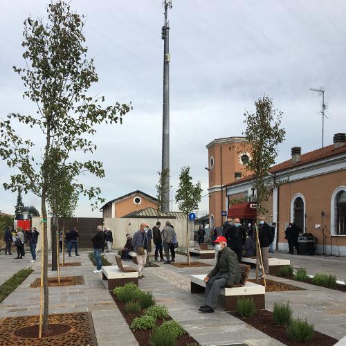 Inaugurato il piazzale rinnovato della Stazione Ferroviaria di Persiceto