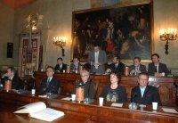 Un momento della seduta - Archivio Provincia di Bologna