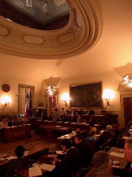 Sala Consiglio - Archivio Città metropolitana di Bologna