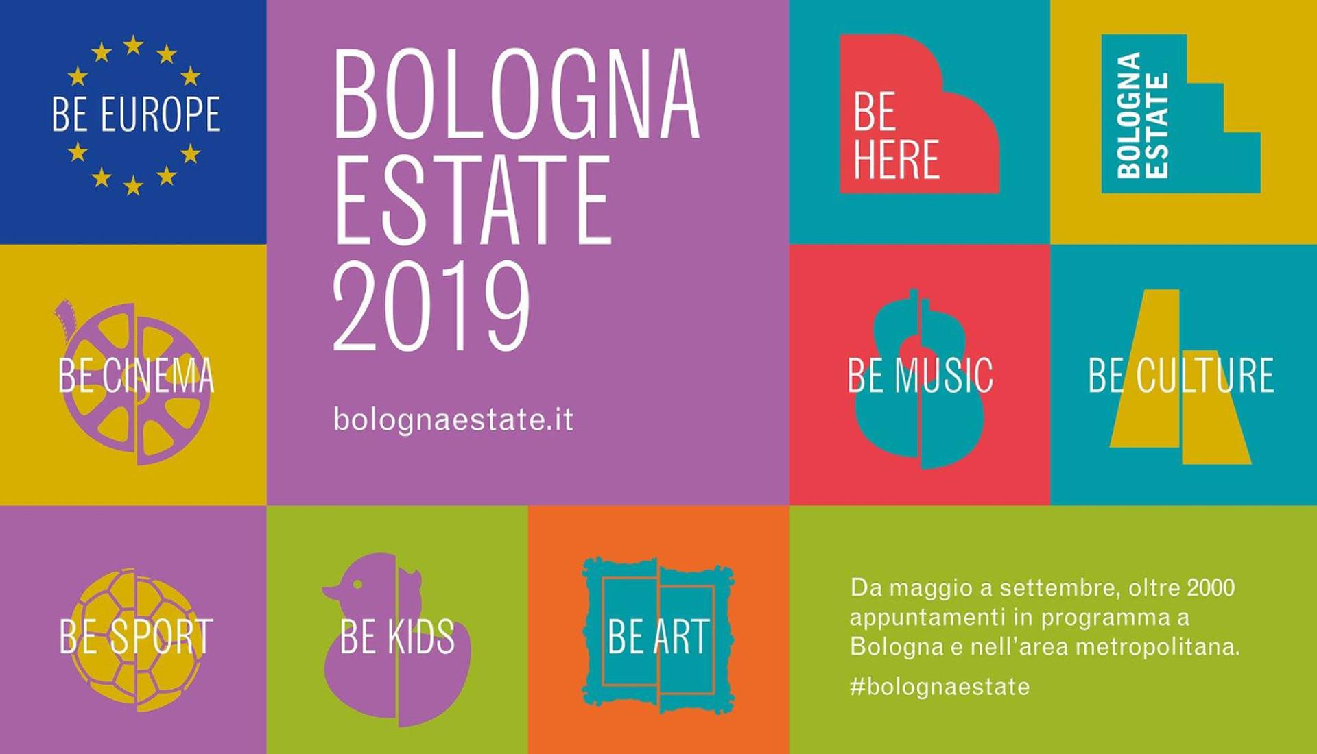 """""""Bologna Estate"""" gli eventi metropolitani fino al 22 agosto"""