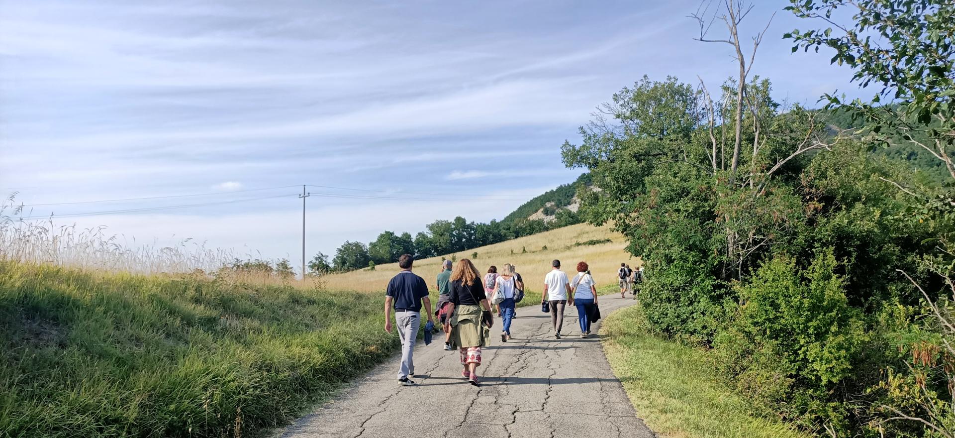 Un'escursione di Crinali