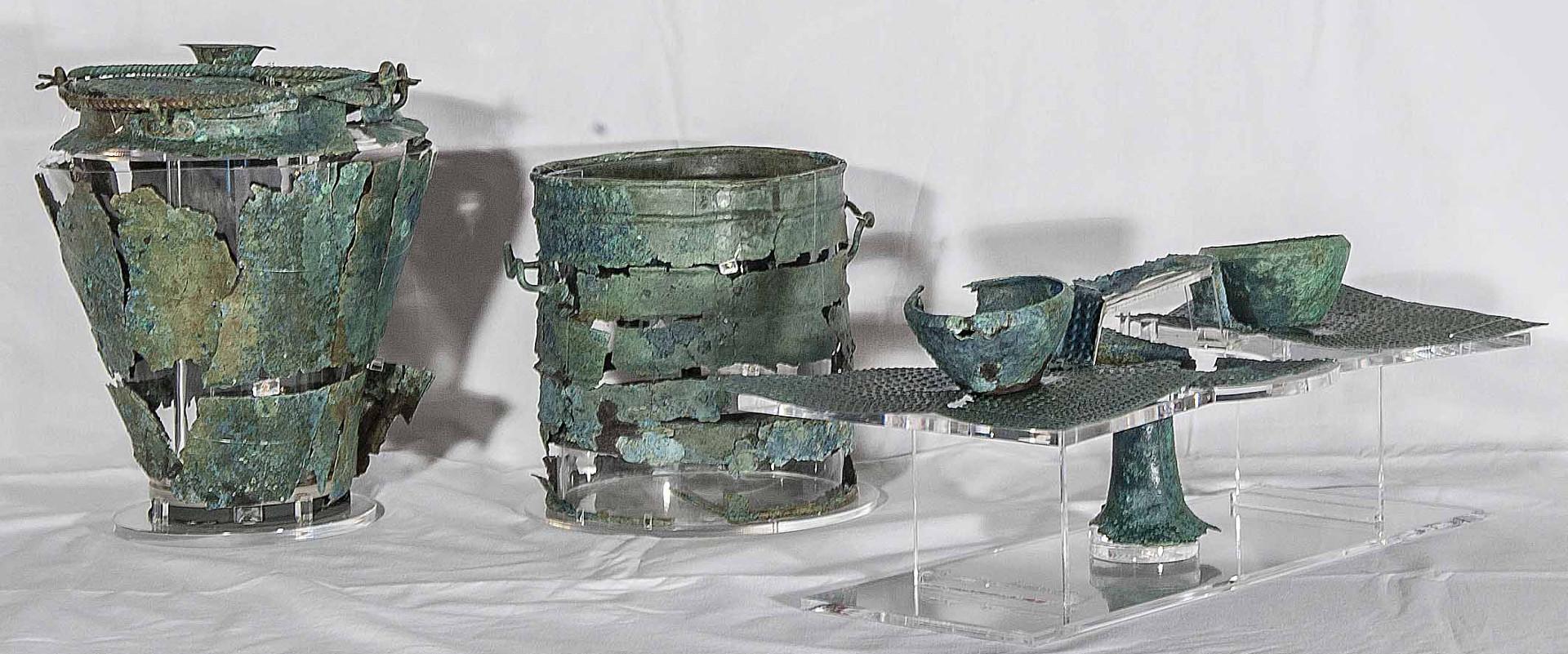 Foto: oggetti della civiltà villanoviana