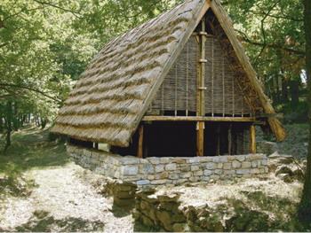 L'area archeologico naturalistica di Monte Bibele. Foto dal sito del Museo
