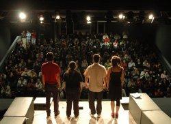 Interno di teatro - Archivio Provincia di Bologna