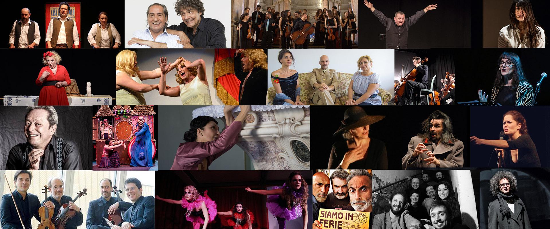 Collage immagini cartellone TaG
