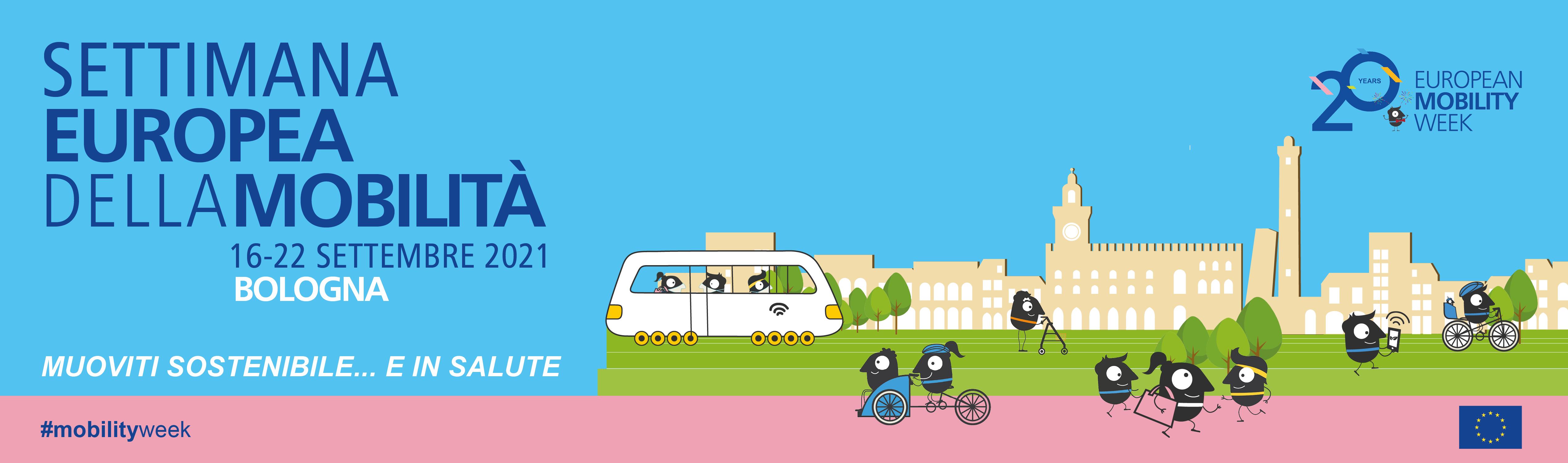 Banner Settimana Europea della Mobilità 2021