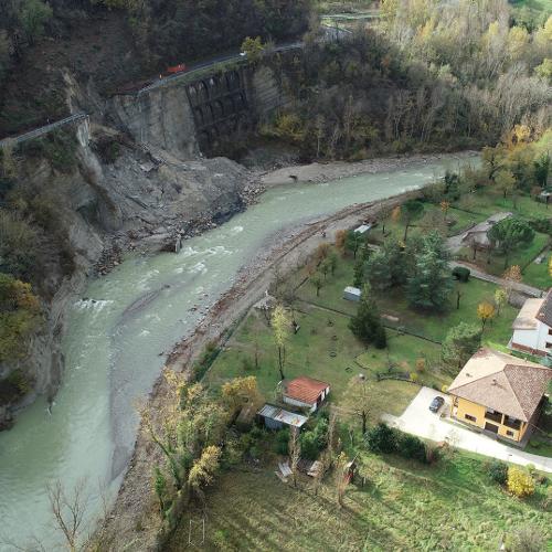 Dissesto, il punto sul crollo della provinciale 325 Val di Setta tra Vado e Gardelletta
