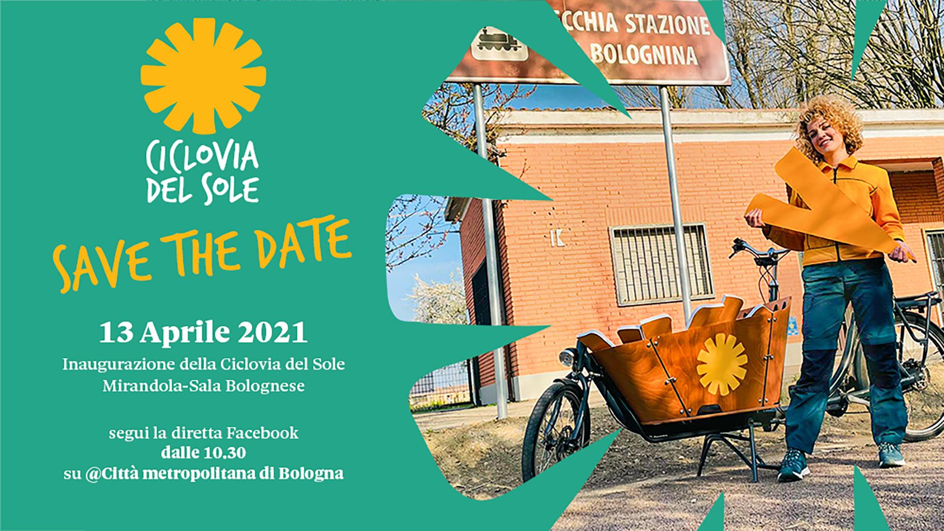 Martedì 13 aprile l'inaugurazione della Ciclovia del Sole sull'ex ferrovia Bologna-Verona