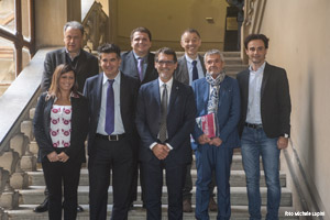 Il Sindaco metropolitano presenta la sua 'squadra': Manca vicesindaco e 6 Consiglieri delegati