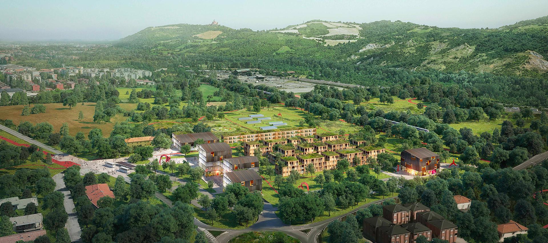 Il progetto per l'area industriale dismessa ex Alfa Wassermann a Borgonuovo - Sasso Marconi