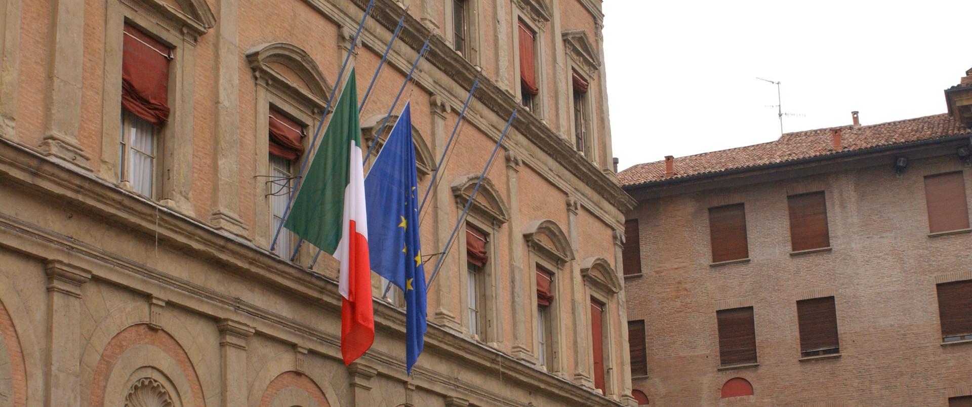 Facciata di palazzo Malvezzi - Archivio Città metropolitana di Bologna