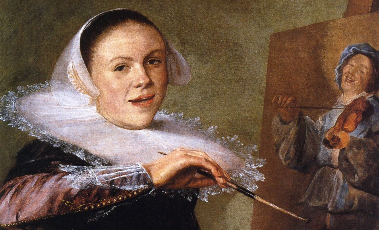 Foto: Judith Leyster, Autoritratto, Washington, National Gallery
