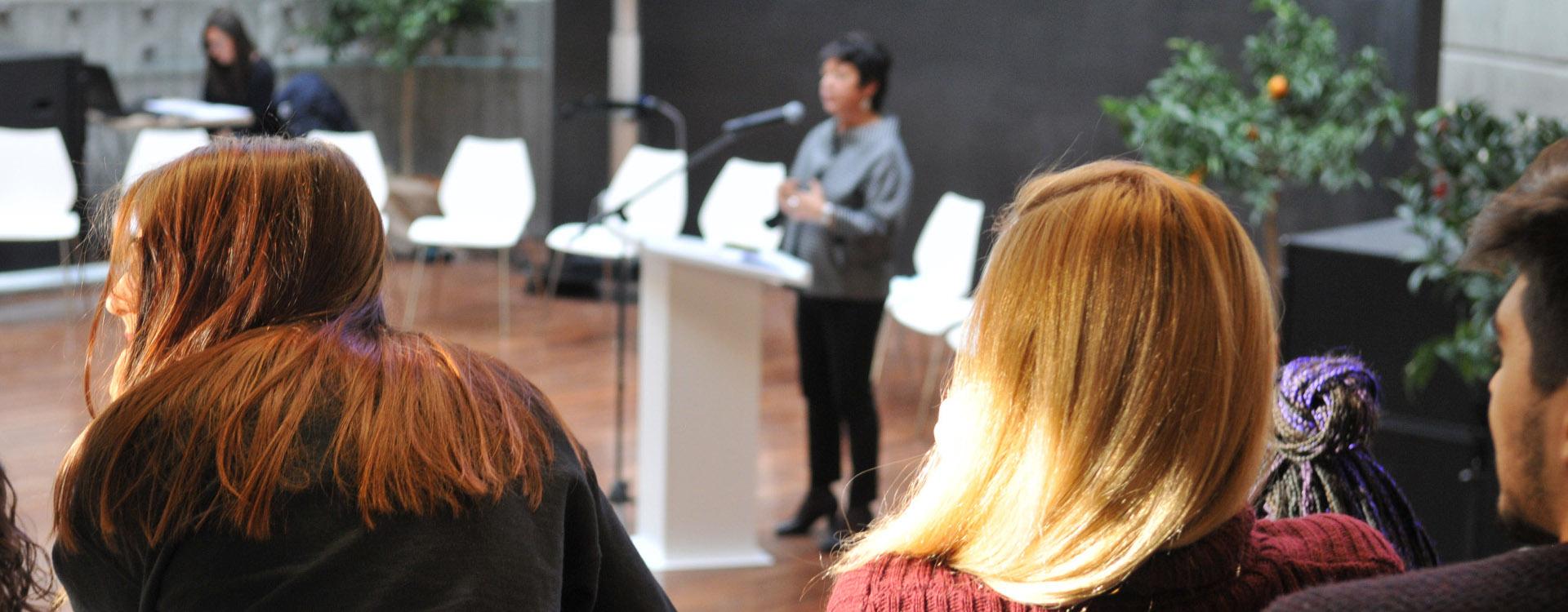 Foto: conferenza. Archivio Città metropolitana di Bologna