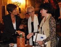 Vania Cappi con la presidente Draghetti e l'assessore Montera