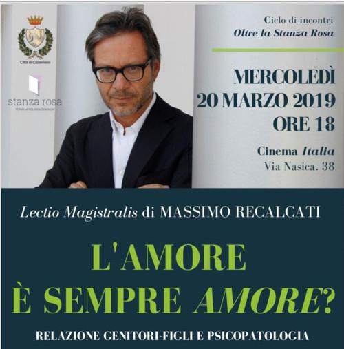 Castenaso: Lectio Magistralis di Massimo Recalcati sul rapporto genitori-figli