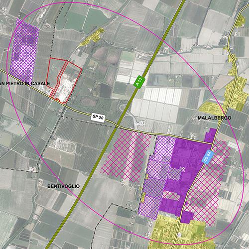 Un nuovo centro logistico nell'area dell'ex zuccherificio tra Altedo e San Pietro in Casale
