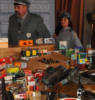 Sequestro di armi - Archivio Città metropolitana