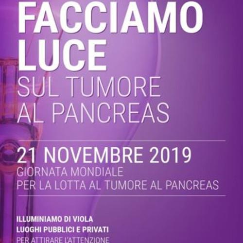 """""""Facciamo Luce sul Tumore al Pancreas"""" il 21 novembre gli edifici si illuminano di viola"""