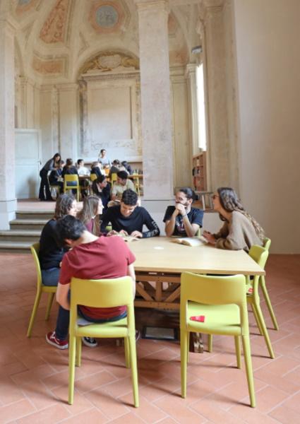 """Nell'ex Oratorio dei Gesuiti nasce la biblioteca """"Galvani Pasolini"""""""