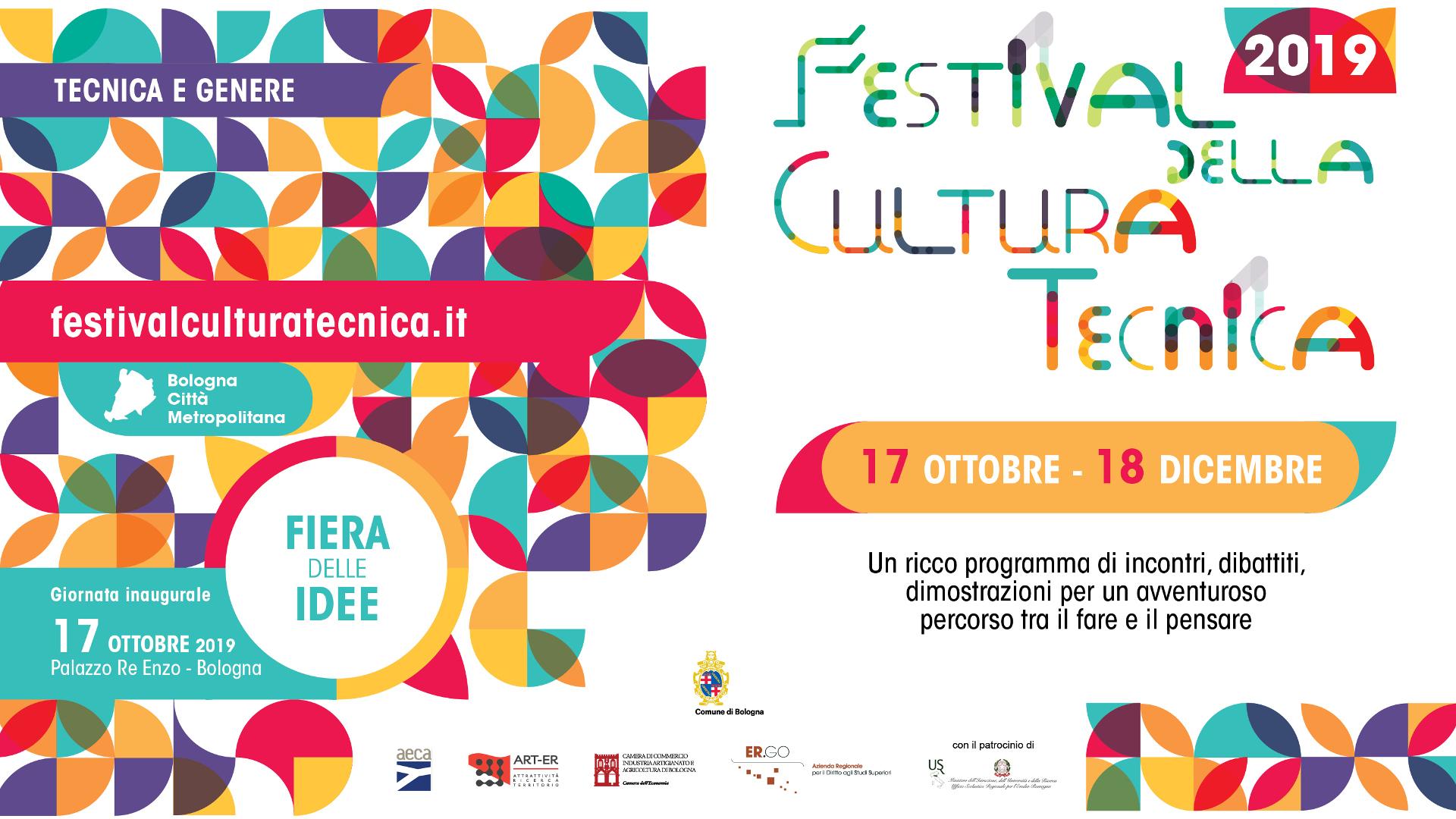 Festival della Cultura tecnica: due mesi di eventi a Bologna e sul territorio regionale