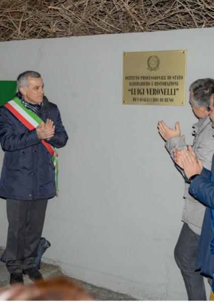 Intitolazione IPSAR Casalecchio-Valsamoggia a Luigi Veronelli