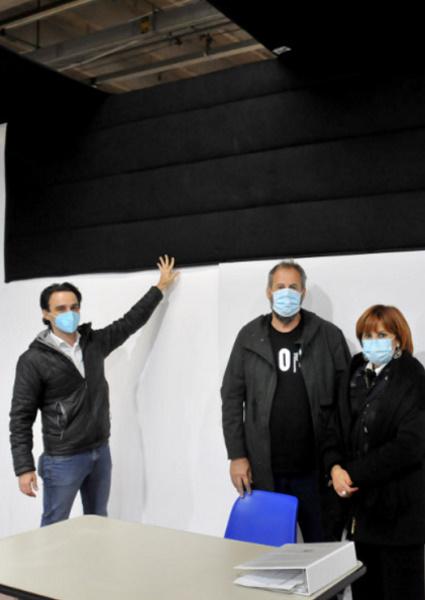 """""""La scuola in Fiera"""": installati oltre 5 mila mq di pannelli fonoassorbenti"""