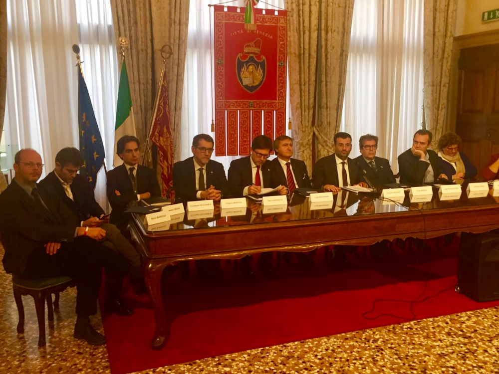 I sindaci delle Città metropolitane a Venezia per il coordinamento nazionale
