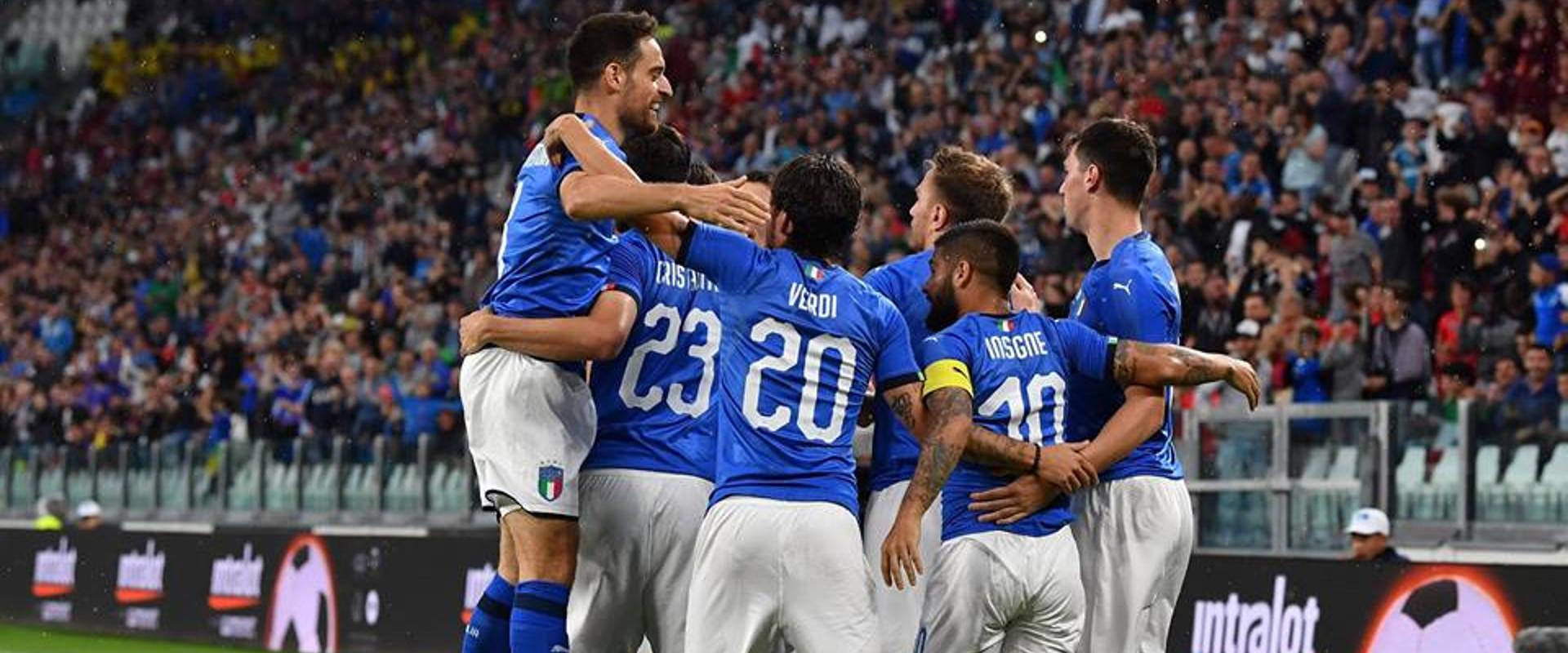 Dalla pagina Facebook di Nazionale Italiana di Calcio