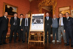 La presentazione dell'evento sportivo a palazzo Malvezzi