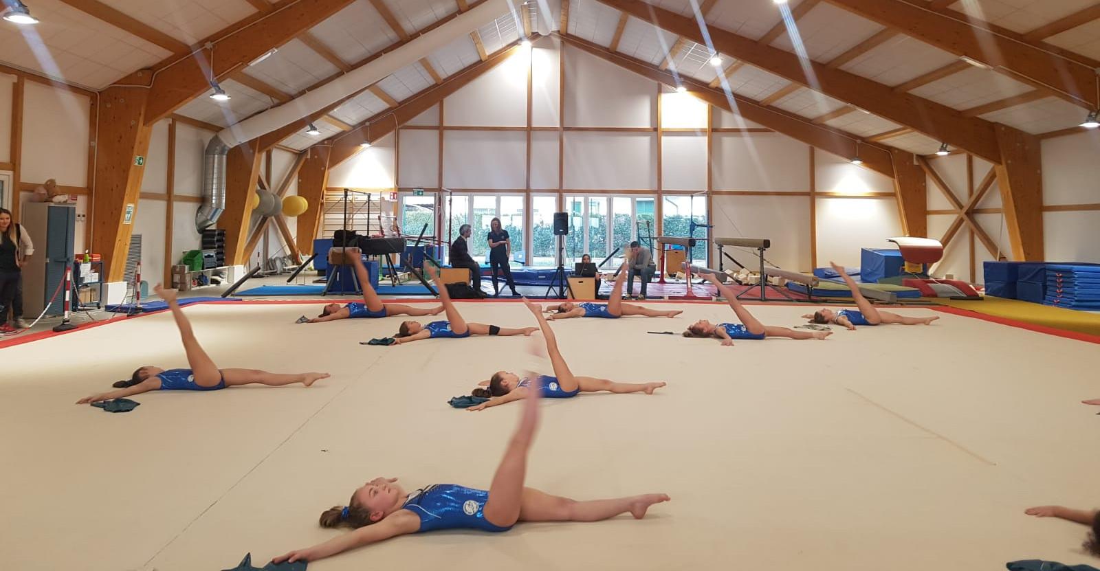 Lezione di ginnastica