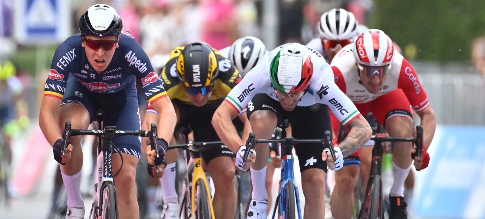 Immagine dalla pagina Facebook del Giro d'Italia